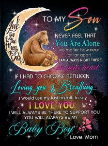 To My Son Blanket