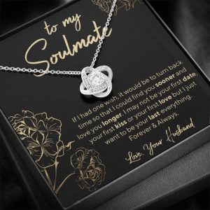 To My Soulmate Necklace