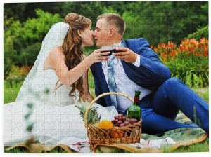 Forever Wedding Crafts Personalized Puzzle